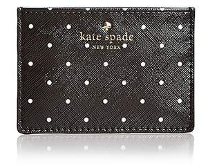 Kate Spade Brooks Drive Card Case - BLACK/CREAM/GOLD - STYLE