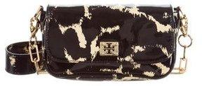 Tory Burch Patent Leather Crossbody Bag - BLACK - STYLE