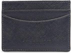 Saks Fifth Avenue Leather Card Case