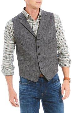 Daniel Cremieux Travis Tweed Herringbone Vest