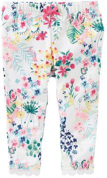 Osh Kosh Baby Girl Floral Leggings