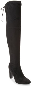 Unisa Black Saranaa Over The Knee Boots