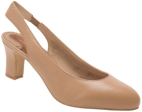 Ros Hommerson Nude Vicki Leather Pump - Women