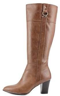 Alfani Womens Courtnee Pointed Toe Knee High Fashion Boots.