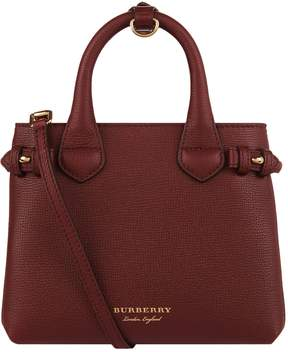 Burberry Baby Banner Tote Bag - RED - STYLE