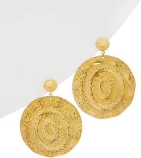 Devon Leigh 18K Plated Drop Earrings