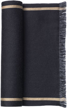 Johnston & Murphy Bordered Line Scarf