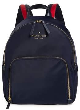 Kate Spade Watson Lane - Hartley Varsity Stripe Nylon Backpack