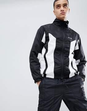 HUF Arena Track Jacket In Black