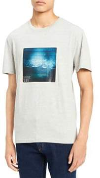 Calvin Klein Jeans Beach Side Crewneck Cotton Tee