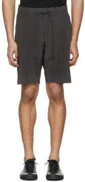 Attachment Grey Slim Shorts
