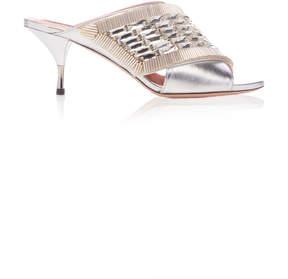 Rochas Metallic Sandal