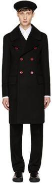 Burberry Black Wool Handsworth Coat