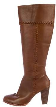 Joie Leather Knee-High Boots