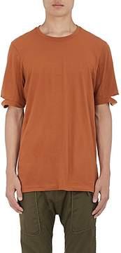 Helmut Lang Men's Split-Sleeve Cotton Jersey T-Shirt