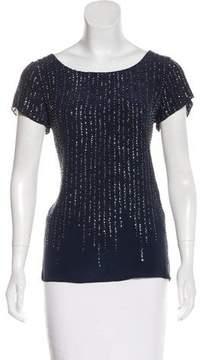 Calypso Silk Embellished Blouse