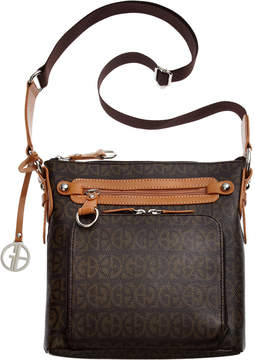 Giani Bernini Block Signature Crossbody, Created for Macy's