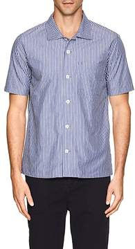 N. Max 'n Chester MAX 'N CHESTER MEN'S ANGELO STRIPED COTTON SHIRT