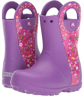 Crocs Handle It Graphic Boot Kids Shoes