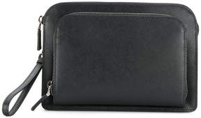 Prada zipped clutch bag