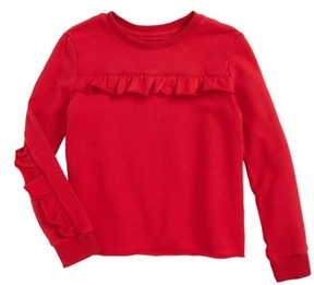 Hudson Girl's Sevy Ruffle Sweatshirt