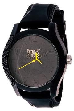 Everlast Men's Analog Monochrome Watch Black