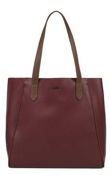 Hogan Women's Burgundy Leather Tote.