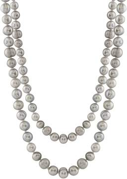 Bella Pearl Endless Grey Freshwater Pearl Necklace