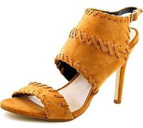 Nicole Miller Percy Women Open-toe Suede Slingback Heel.