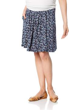 A Pea in the Pod Design History Under Belly A-line Maternity Skirt