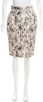 Alessandro Dell'Acqua Silk-Blend Pencil Skirt