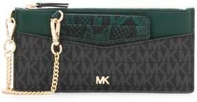MICHAEL Michael Kors monogram zipped wallet