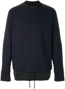 Diesel Black Gold drawstring hem sweater