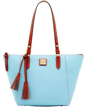Dooney & Bourke Pebble Grain Maxine Tote - CARIBBEAN BLUE - STYLE