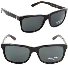 Polo Ralph Lauren M-SG-2278 PH 4098 5260-87 - Black & Grey Sunglasses for Mens - 57 x 18 x 145 mm