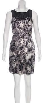Cynthia Steffe Silk Sheath Dress