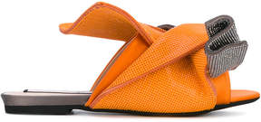 No.21 knotted sandals
