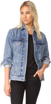 A Gold E AGOLDE Jessie Oversized Denim Jacket