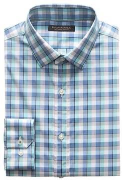 Banana Republic Camden Standard-Fit SUPIMA® Cotton Check Shirt