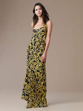 Diane von Furstenberg Sleeveless Bias Slip Gown