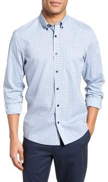 Nordstrom Trim Fit Print Sport Shirt