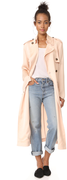 Elizabeth and James Aaron Oversized Trench Coat