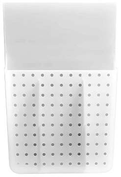 madesmart Over Door Hair Tools Organizer with Dividers Gray