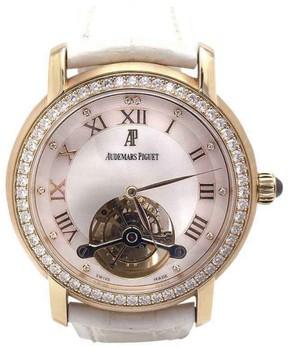 Audemars Piguet Jules Tourbillon 26084OR.ZZ.D016CR.01 Rose Gold Diamonds 39mm Womens Watch