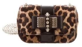 Christian Louboutin Mini Ponyhair Sweet Charity Bag
