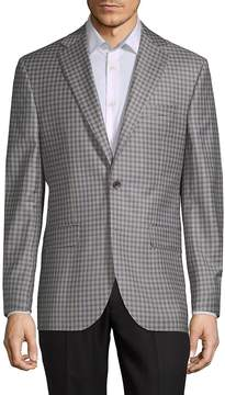 Jack Victor Men's Conway Checkered Wool Jacket