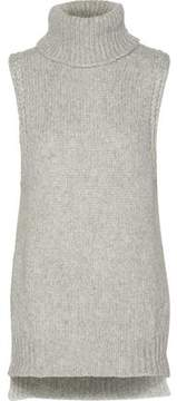 Enza Costa Cable-Knit Turtleneck Sweater