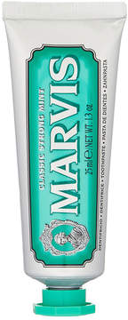 Marvis Classic Strong Mint Travel Toothpaste by 25ml Tube)