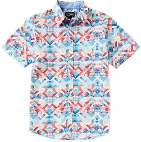 Daniel Cremieux Jeans Multi-Color Printed Short-Sleeve Woven Shirt