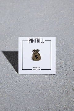 21 MEN Pintrill Money Bag Pin